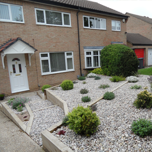 front garden ideas for terraced house