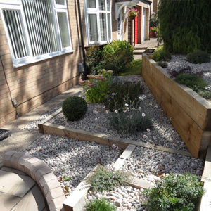 Share - Garden design terraced house ...